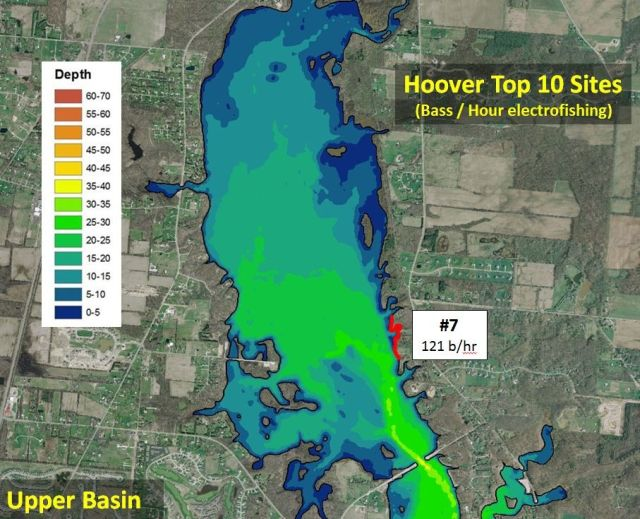 Bass survey for Odnr fishing report
